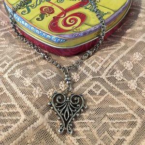 Brighton Collection Heart Necklace ♥️